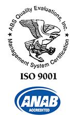 ISO9001(2015) ANAテックはISO9001を認証取得しています